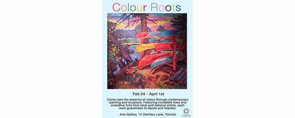 COLOUR ROOTS - February 24 - April 1, 2017