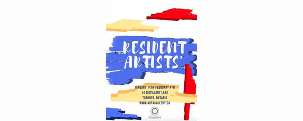 RESIDENT ARTISTS' EXHIBITION - January 14 - February 7, 2019