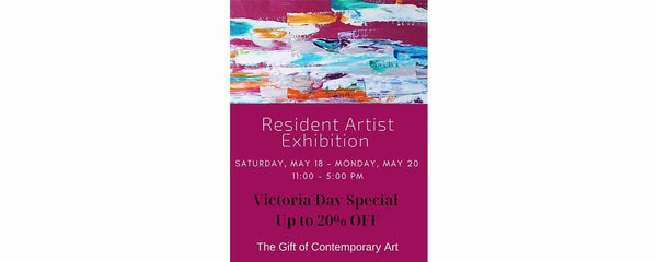 RESIDENT ARTIST EXHIBITION - May 18 - 20, 2019