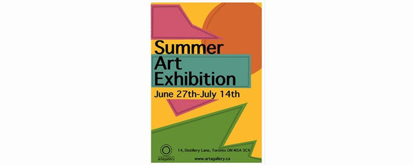 SUMMER ART EXHIBITION - June 27 - July 14, 2019