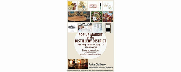 POP-UP MARKET - August 10 - 11, 2019