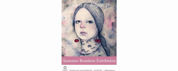 SUMMER RESIDENT EXHIBITION - August 1 - 15, 2019