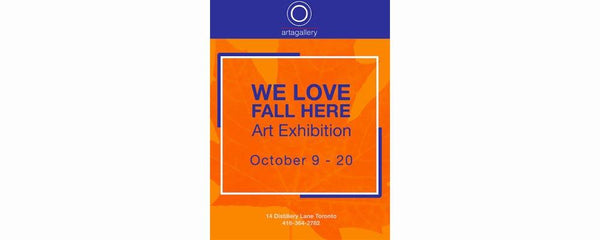 WE LOVE FALL HERE - October 9 - 20, 2019