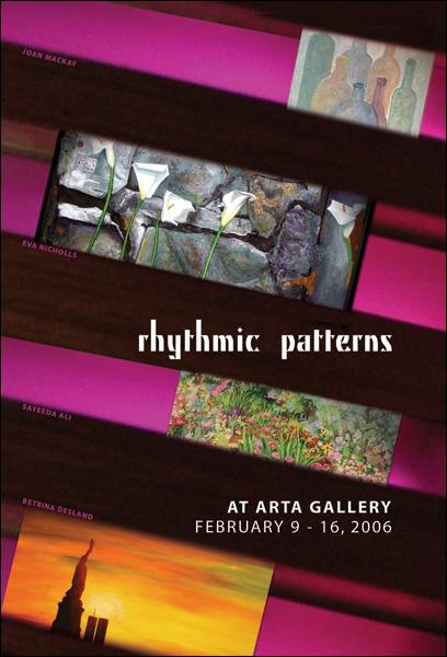 RHYTHMIC PATTERNS - February 9 - 16, 2006