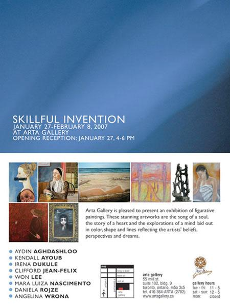 SKILLFUL INVENTION - January 27 - February 8, 2007