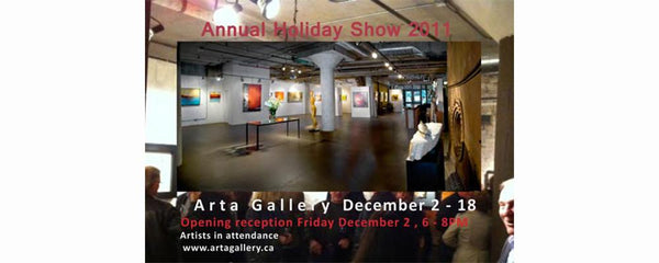 ANNUAL HOLIDAY SHOW - December 2 - 18, 2011