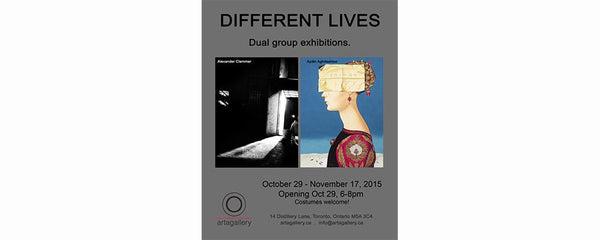 DIFFERENT LIVES - October 29 - November 17, 2015