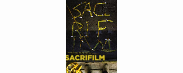 SACRIFILM - AN INTERACTIVE INSTALLATION AT SCOTIABANK'S NUIT BLANCHE - October 1 - 2, 2011