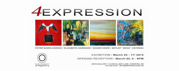4EXPRESSION - March 4 - 17, 2015