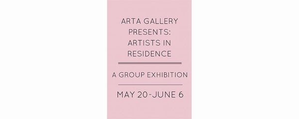 RESIDENT ARTIST GROUP SHOW - May 20 - June 6, 2016