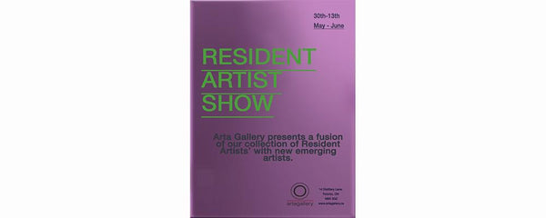 RESIDENT ARTIST SHOW - May 30 - June 13, 2017