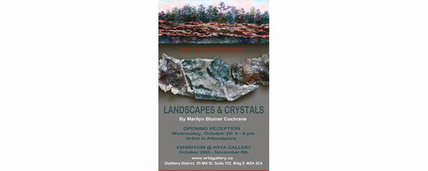 THE ECHOES SERIES - LANDSCAPES AND CRYSTALS - October 26 - November 8, 2011