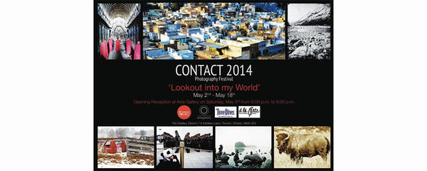 CONTACT PHOTOGRAPHY FESTIVAL - May 2 - 18, 2014