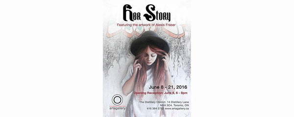 HER STORY -  June 8 - 21, 2016