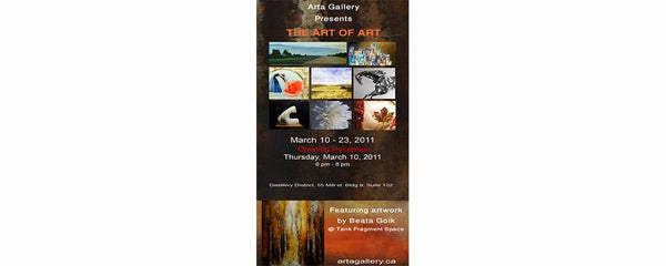 THE ART OF ART - March 10 - 23, 2011