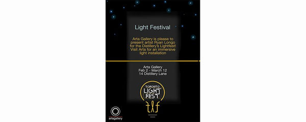 LIGHT FESTIVAL - February 2 - March 12, 2017