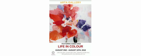 LIFE IN COLOUR - August 2 - 15, 2018
