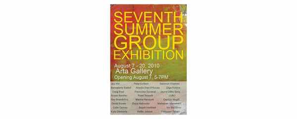 THE SEVENT SUMMER GROUP EXHIBITION - August 7 - 20, 2010