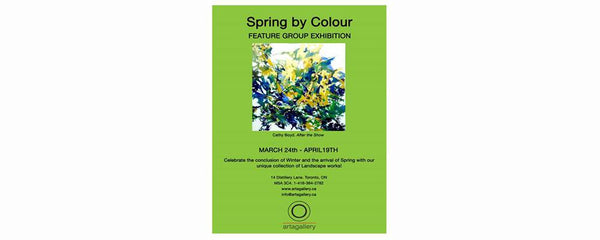 SPRING BY COLOUR - March 24 - April 19, 2016
