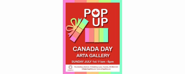 CANADA DAY POP-UP - July 1 - 1, 2018