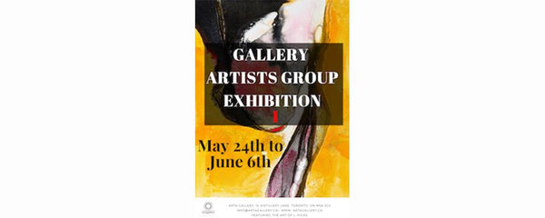 GALLERY ARTIST GROUP EXHIBITION 1 - May 24 - June 6, 2018