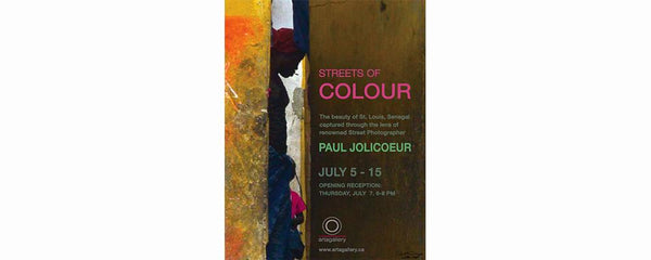 STREETS OF COLOURS - July 5 - 19, 2016