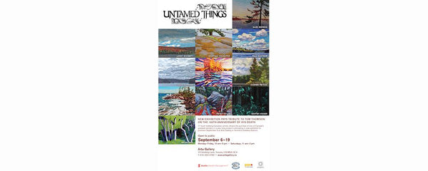 UNTAMED THINGS - September 6 - 19, 2017