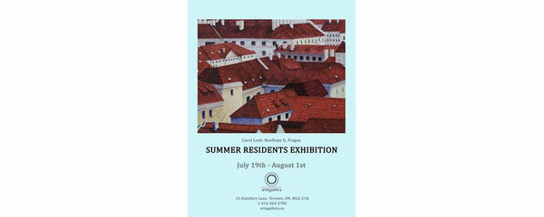 SUMMER RESIDENTS EXHIBITION - July 19 - August 1, 2016