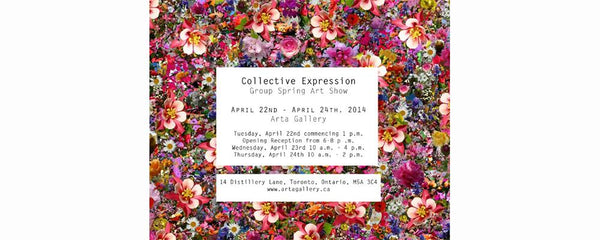 COLLECTIVE EXPRESSION - April 22 - 24, 2014