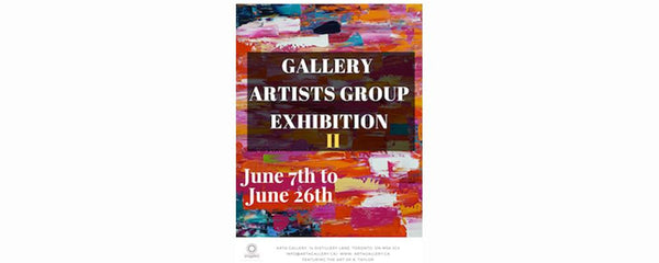 ARTIST GROUP EXHIBITION 2 - June 7 - 26, 2018 GALLERY