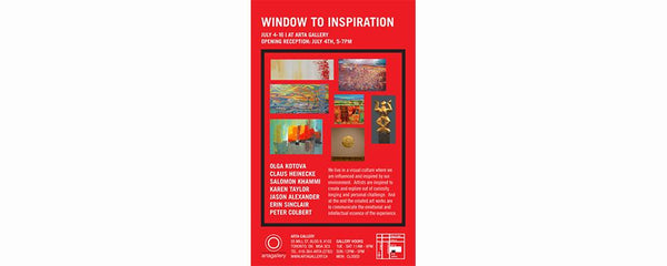 WINDOW TO INSPIRATION - July 4 - 16, 2009