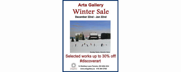 WINTER SALE - December 22 - January 22, 2016