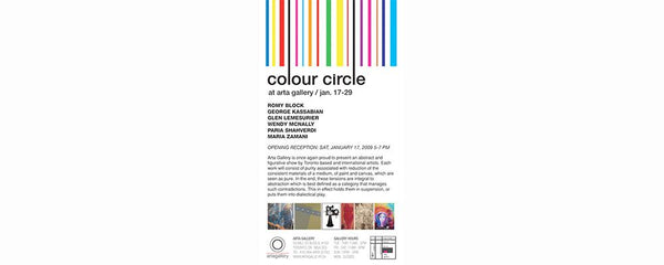 COLOUR CIRCLE - January 17 - 29, 2009