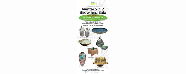 TORONTO POTTERS ANNUAL WINTER SHOW - December 7 - 9, 2012