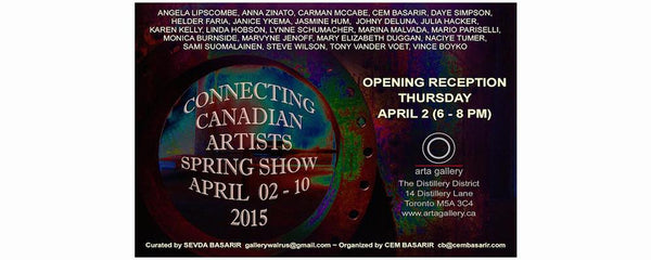 CONNECTING CANADIAN ARTISTS SPRING SHOW - April 2 - 10, 2015