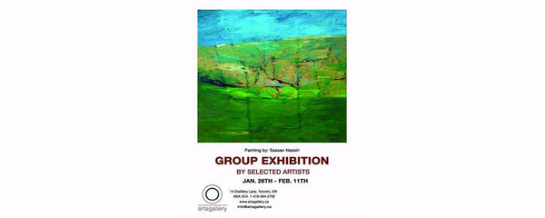 GROUP EXHIBITION BY SELECTED ARTISTS - January 26 - February 11, 2016