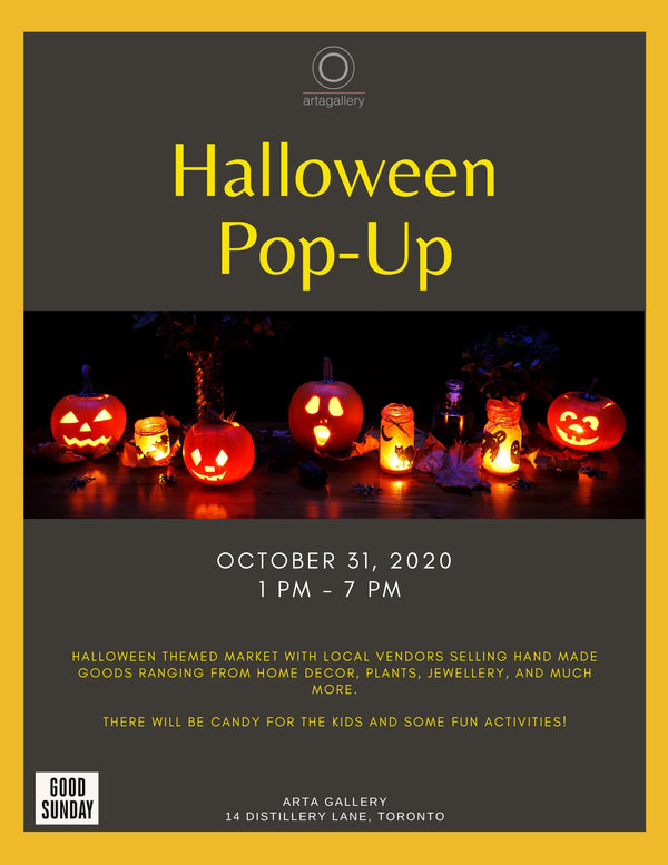 Halloween Pop-Up at Arta Gallery
