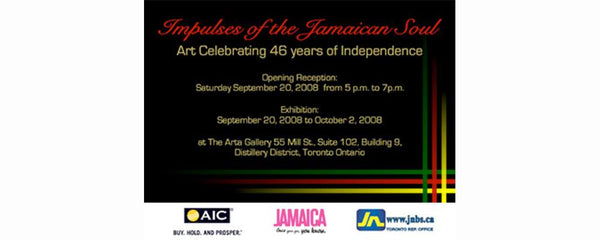 IMPULSES OF THE JAMAICAN SOUL -  September 20 - October 2, 2008