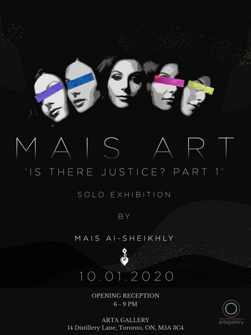 exhibition flyer for art show