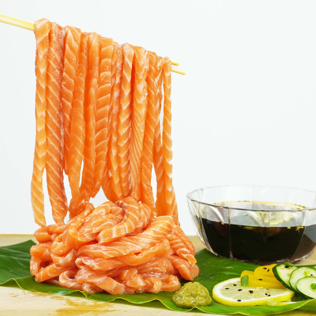 Sashimi Noodles Mukbang Set EXCLUSIVE!