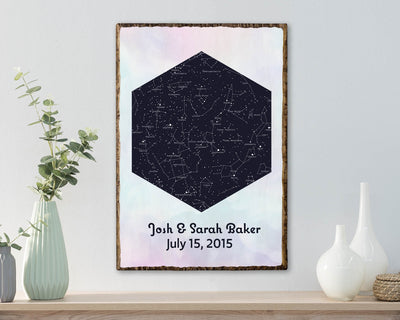 Hexagon Star Map