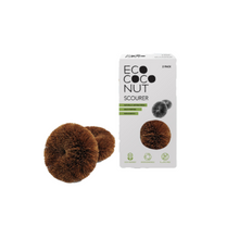 Load image into Gallery viewer, EcoCoconut Twin Pack Scourers