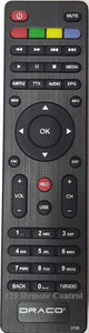 Genuine New Original Draco Digital Box Remote Control