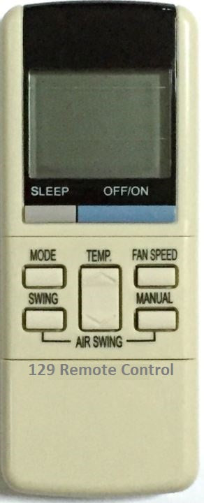 High Quality New Panasonic AirCon Remote Control for A75C374