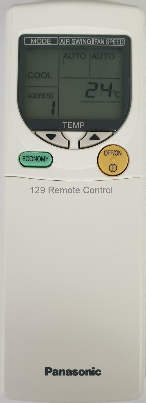 Genuine New Original Panasonic AirCon Remote Control A75C2739