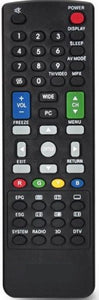 New High Quality Sharp TV Remote Control - New Substitute