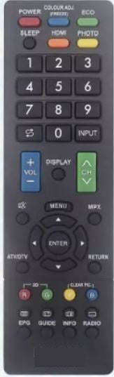 New High Quality Sharp TV Remote Control for Smart TV - New Substitute