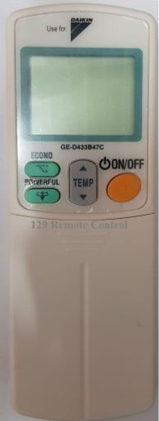 High Quality Daikin AC Remote Substitute for ARC433B47