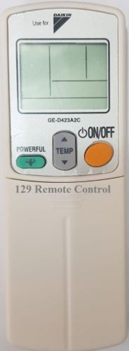 New High Quality Daikin AC Remote Substitute for ARC406A1