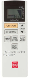 Brand New Original KDK Remote Control for U48FP